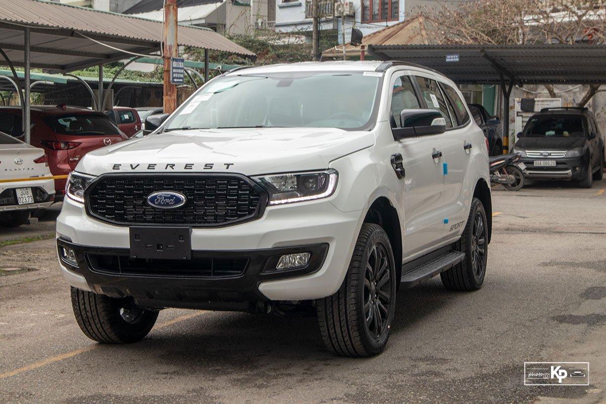 Ảnh giới thiệu xe Ford Everest Sport 2021