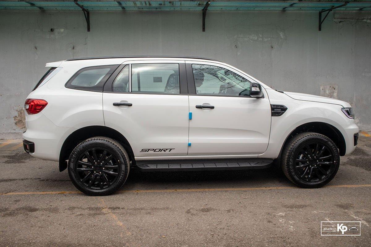 Ảnh Thân xe Ford Everest Sport 2021