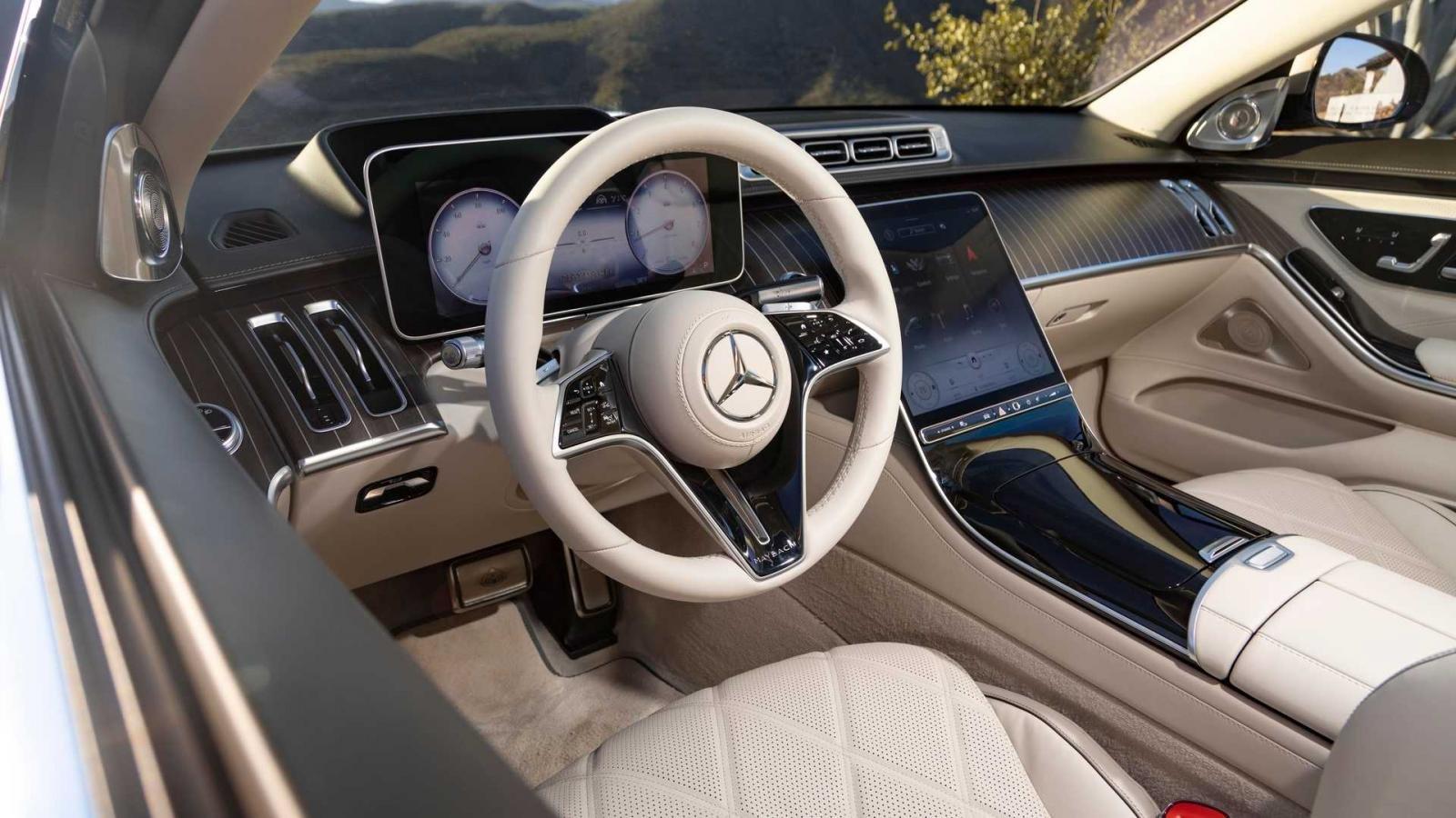 Mercedes-Maybach S-Class 2021 tích hợp các công nghệ tối tân nhất của hãng xe sang gốc Đức.