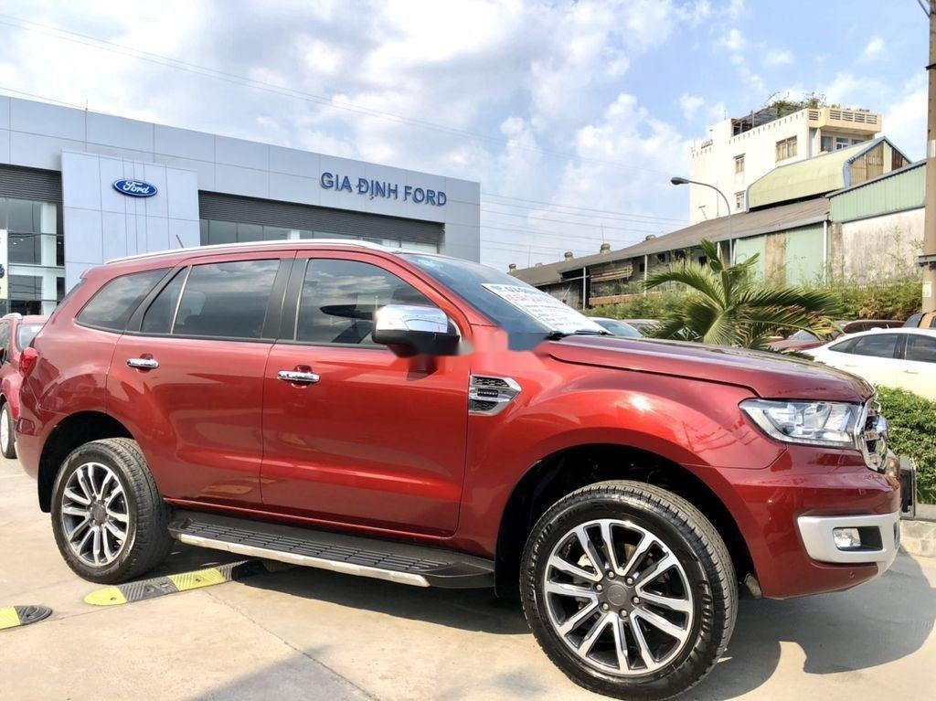 Bán Ford Everest 2019, màu đỏ, xe nhập còn mới (9)