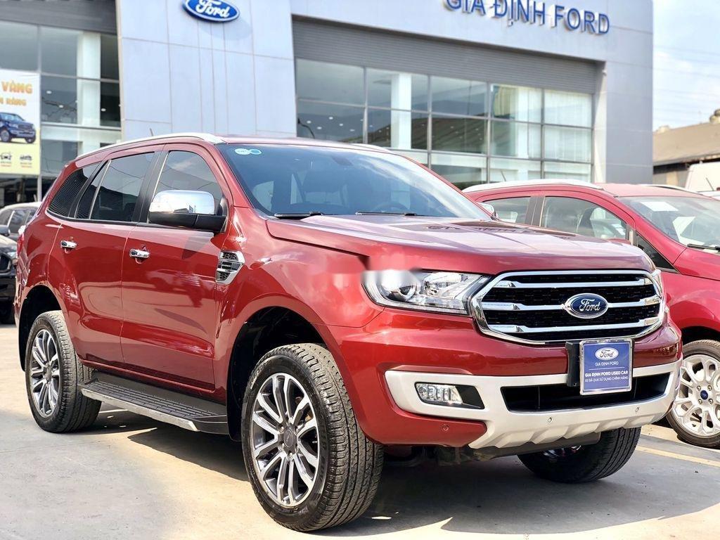 Bán Ford Everest 2019, màu đỏ, xe nhập còn mới (1)