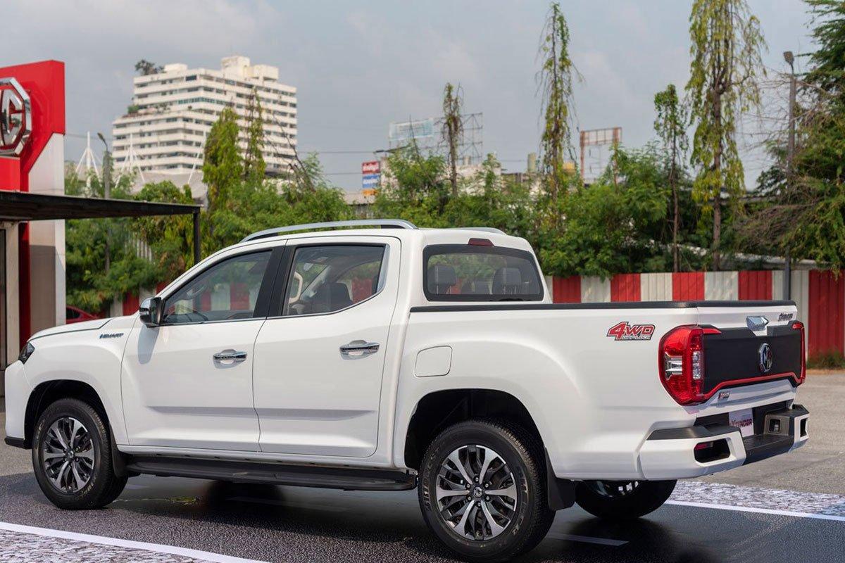 Thiết kế thân xe MG Extender 2021 nâng cấp tại Thái Lan 1
