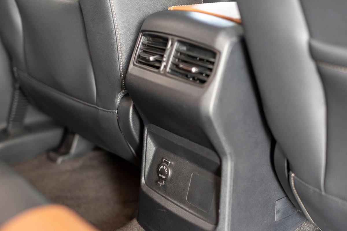 Cửa gió điều hòa hàng ghế sau trên xe MG Extender 2021 1