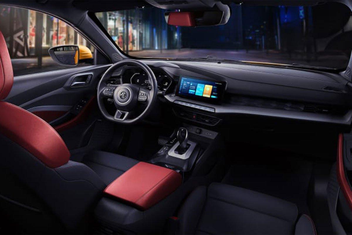 Ảnh Khoang lái xe MG 5 2021