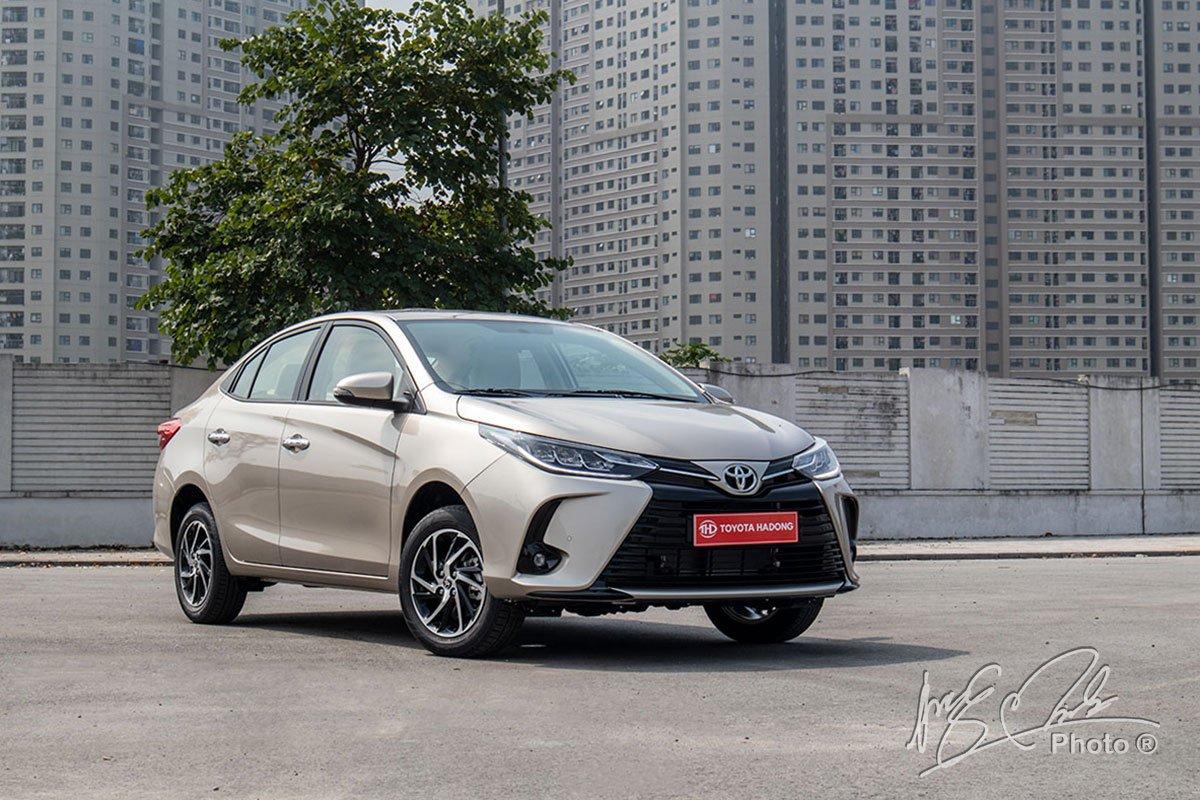 Đánh giá xe Toyota Vios G CVT 2021.