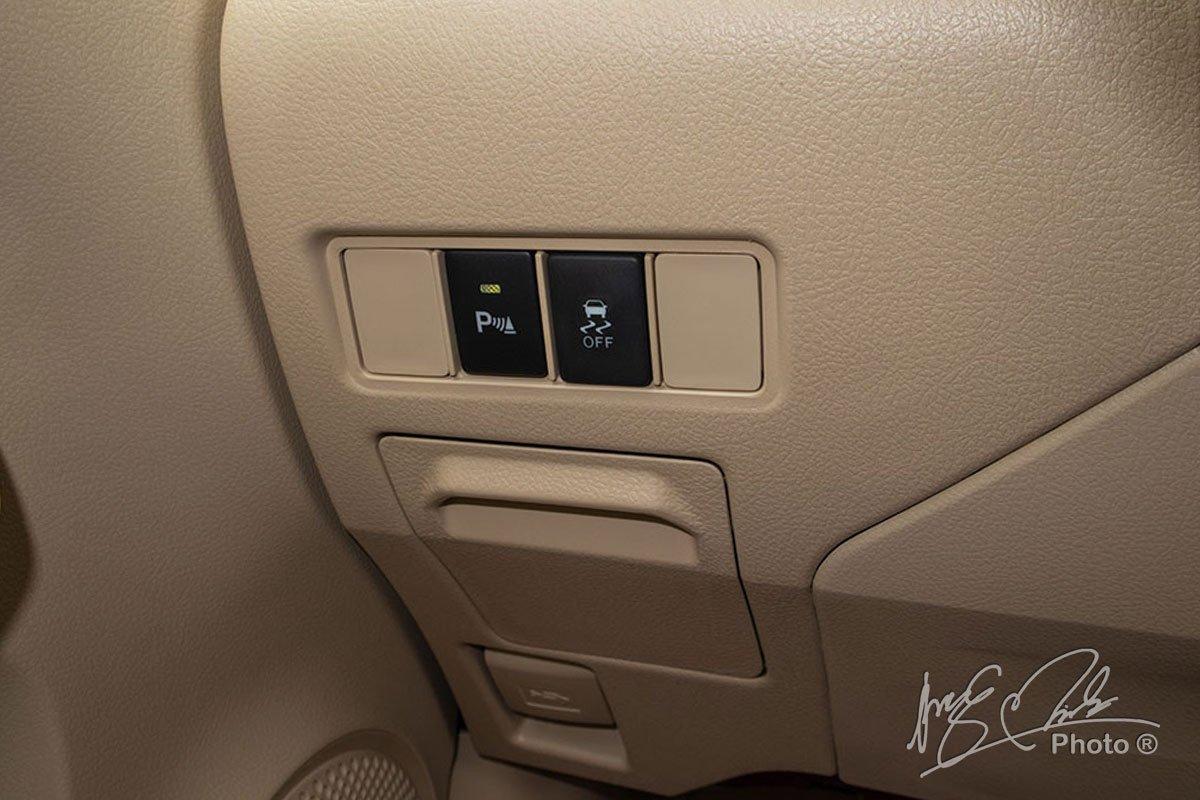 Đánh giá xe Toyota Vios G CVT 2021: Hệ thống cân bằng điện tử.