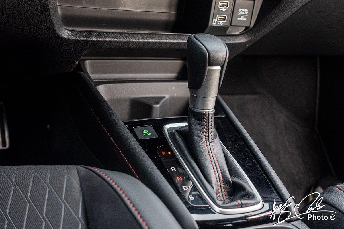 Hộp số vô cấp CVT với 7 cấp số ảo trên Honda City RS 2021.