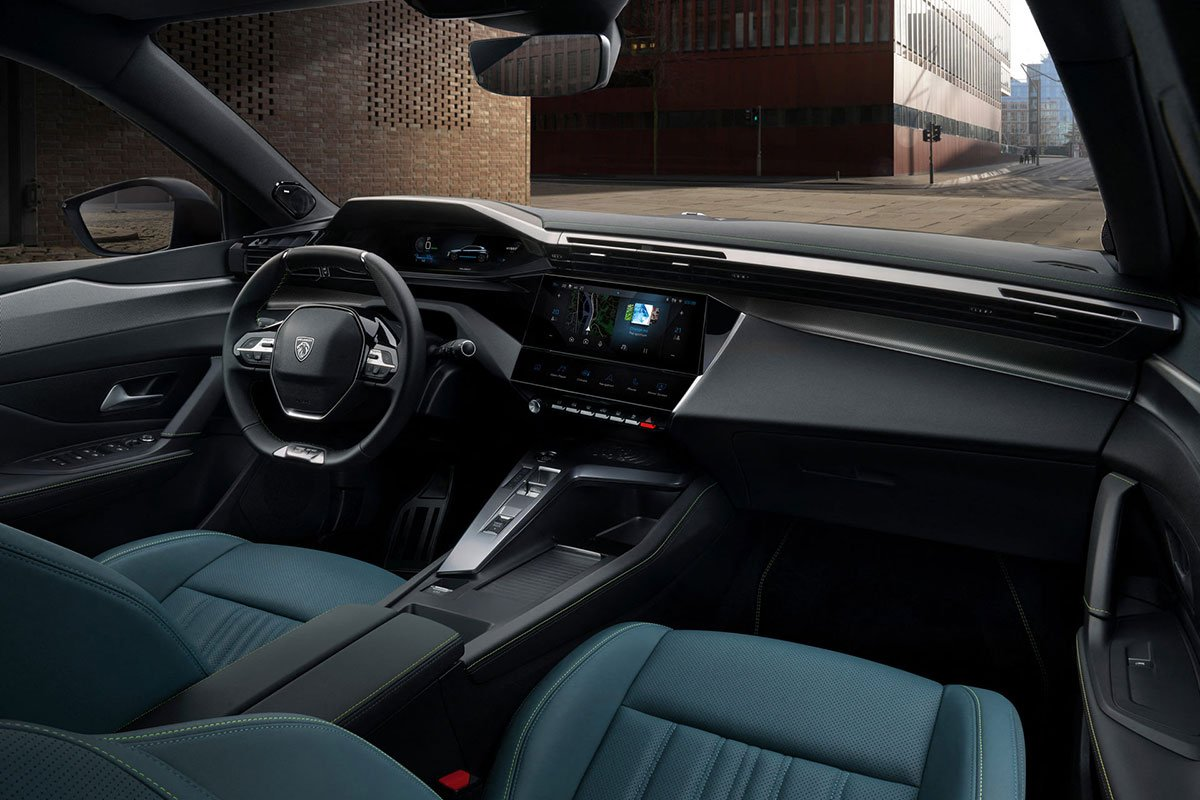 Không gian khoang cabin xe Peugeot 308 2021 1