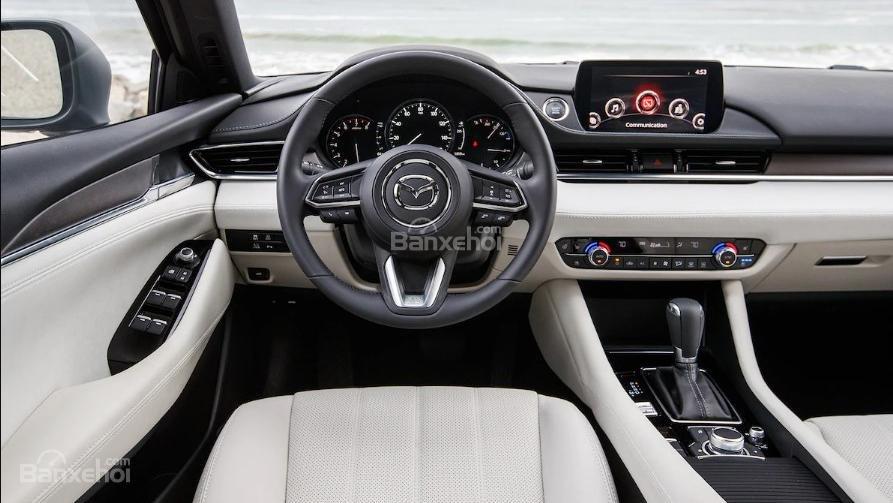 Nội thất xe Mazda CX5 2018