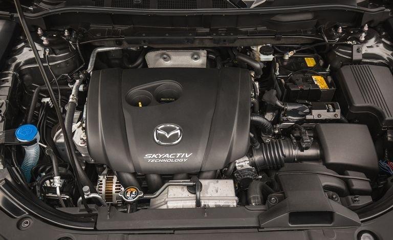 Động cơ xe Mazda CX5 2018