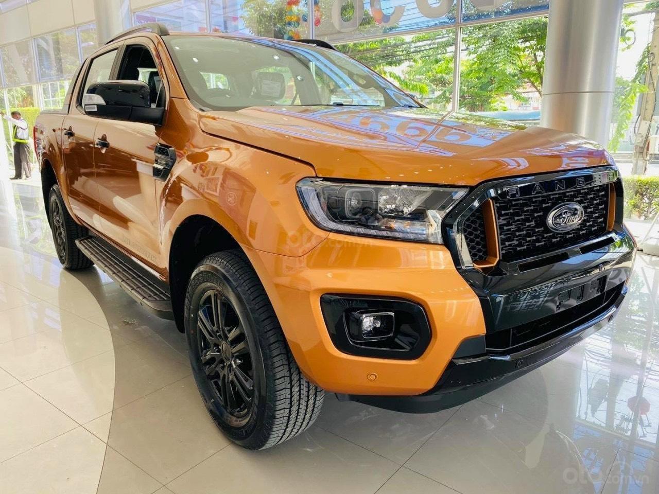 Ford Hà Nội - Ford Ranger Wildtrak 4x4 Bi-Turbo 2021 trả góp 90%, không chứng minh thu nhập, toàn quốc (1)