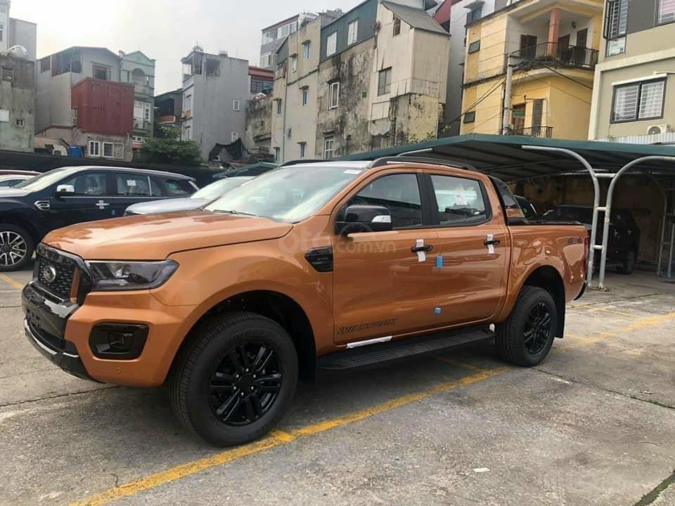 Ford Hà Nội - Ford Ranger Wildtrak 4x4 Bi-Turbo 2021 trả góp 90%, không chứng minh thu nhập, toàn quốc (4)