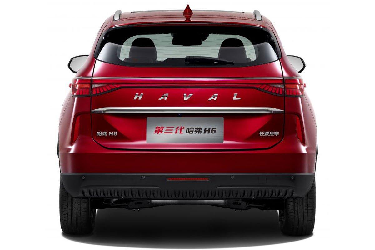 Thiết kế đuôi xe Haval H6 2021 1