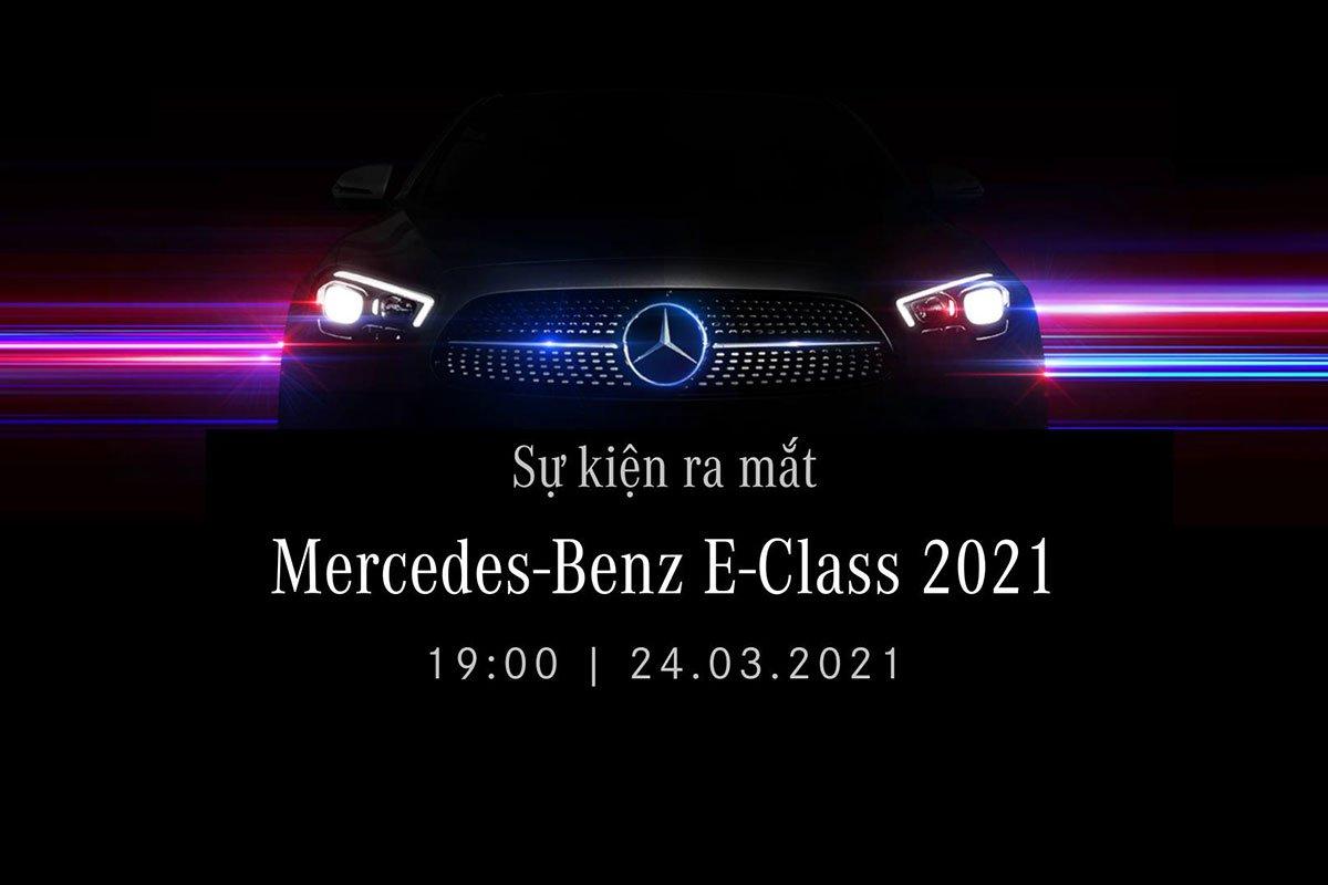 Mercedes-Benz E-Class 2021 chốt lịch ra mắt Việt Nam 1