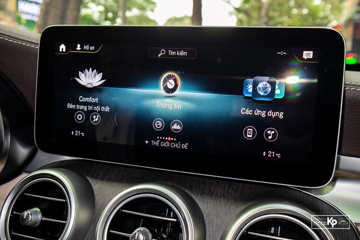 Ảnh Màn hình xe Mercedes-Benz GLC 300 2021