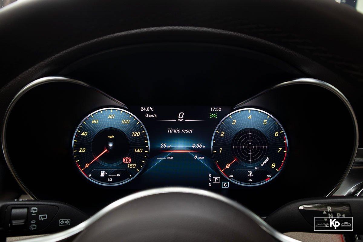 Ảnh Đồng hồ xe Mercedes-Benz GLC 300 2021