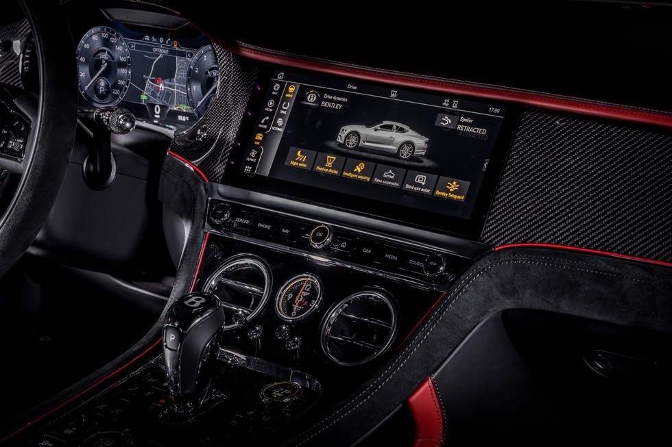 Bentley Continental GT Speed 2022 tích hợp công nghệ tối tân.