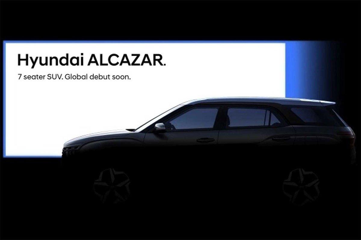 Hyundai Alcazar sắp ra mắt tại Ấn Độ 1