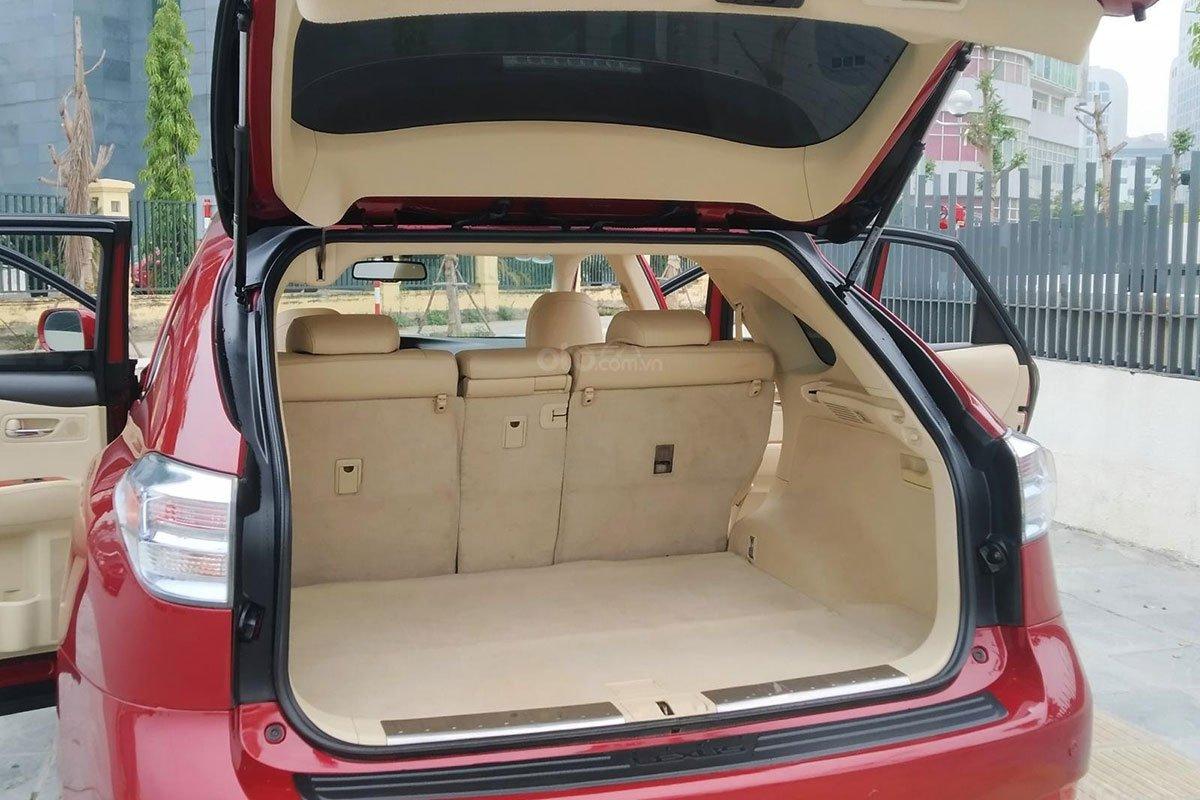 Khoang hành lý xe Lexus RX 450h 2010 1