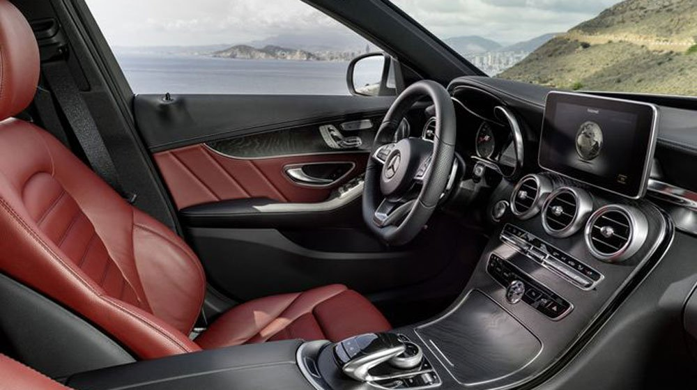 Nội thất Mercedes C300 AMG