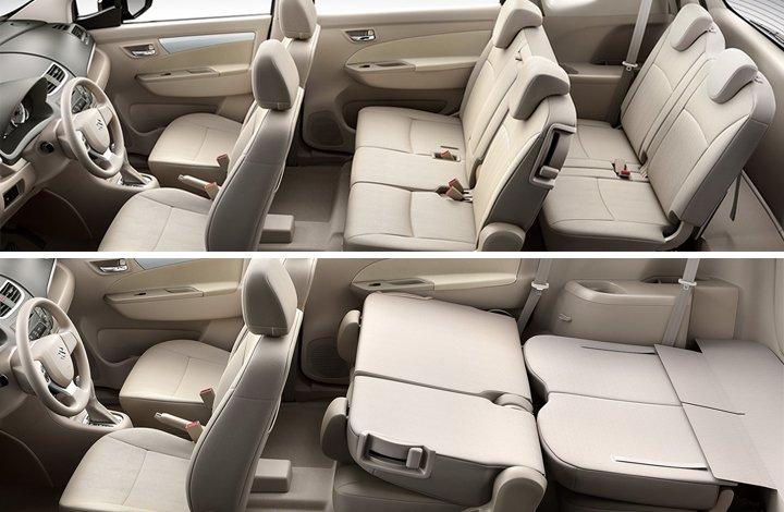 Tiện nghi Suzuki Ertiga 2019