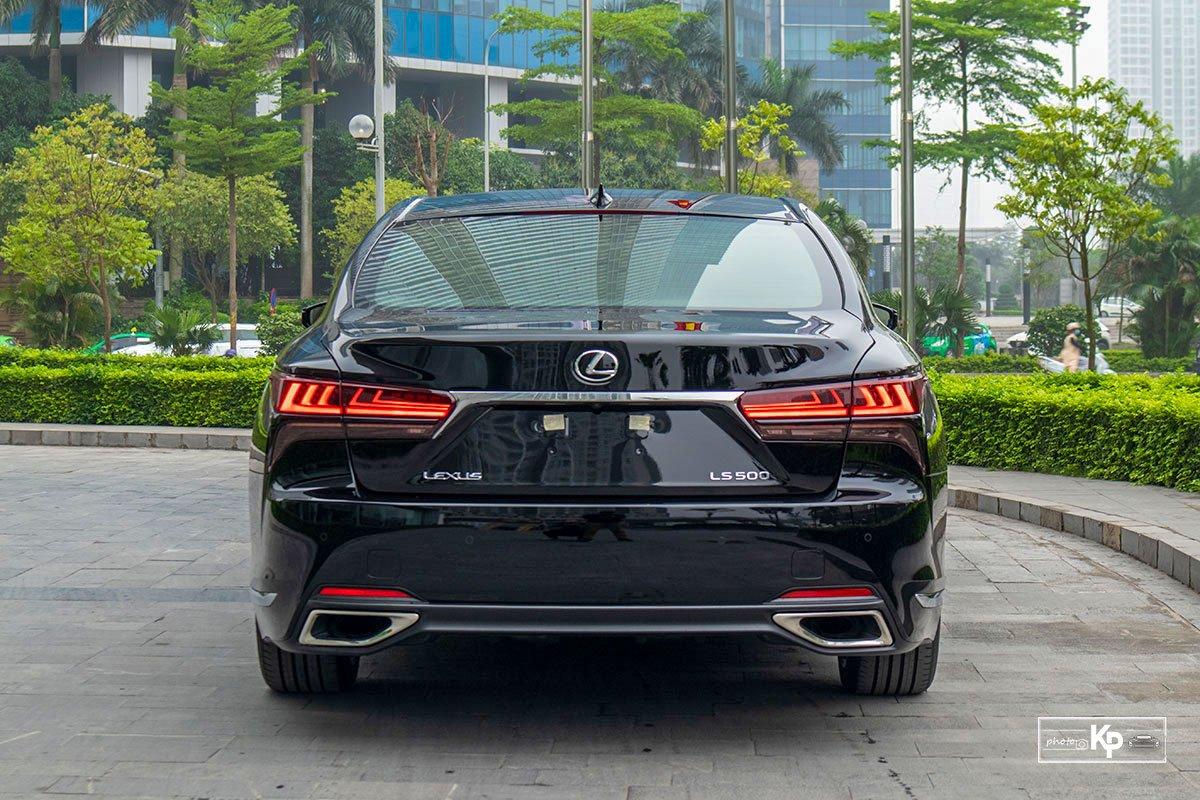 Ảnh Đuôi xe Lexus LS 500 2021