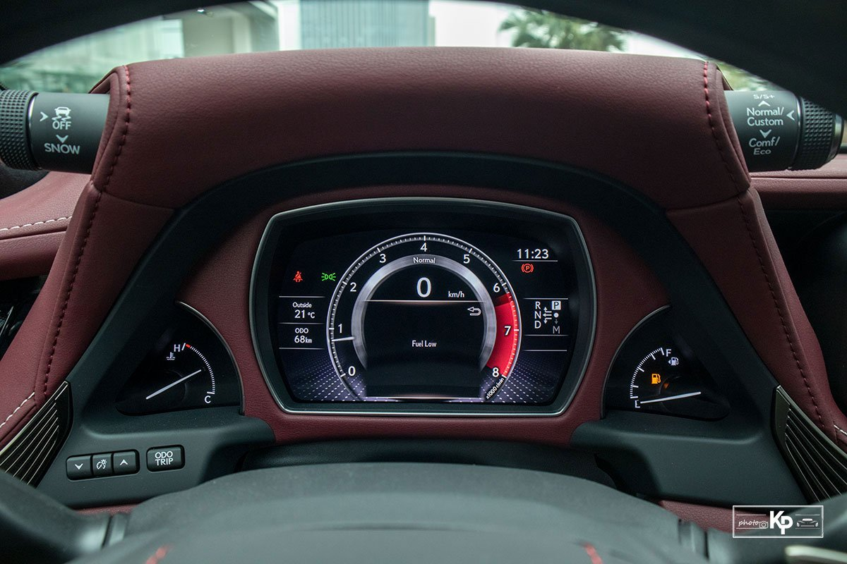 Ảnh Đồng hồ xe Lexus LS 500 2021