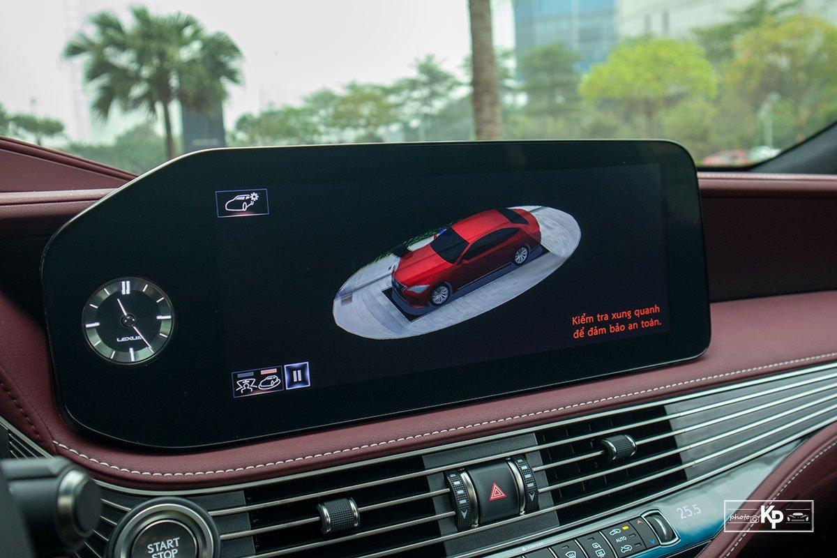 Ảnh Camera 360 độ xe Lexus LS 500 2021