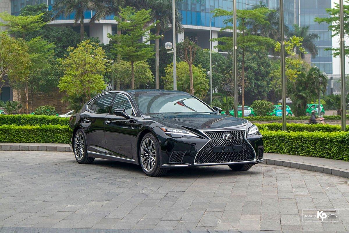 Ảnh tổng quát xe Lexus LS 500 2021