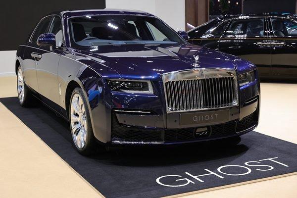 [Bangkok 2021] Rolls-Royce Ghost 2021 thế hệ mới còn có bản kéo dài.