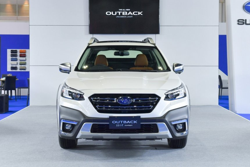 [Bangkok 2021] Subaru Outback 2021 xuất hiện đầu tiên tại Đông Nam Á.