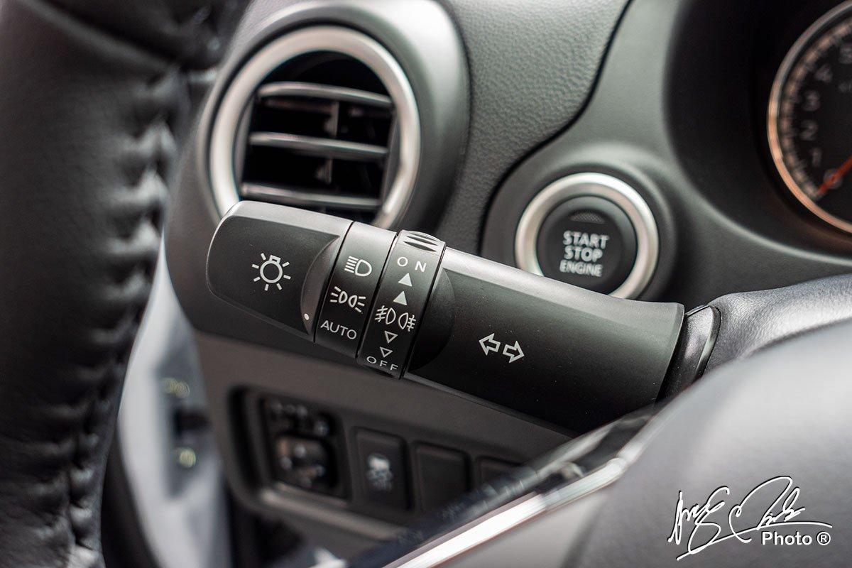 Tính năng đèn pha tự động trên Mitsubishi Attrage 2021.