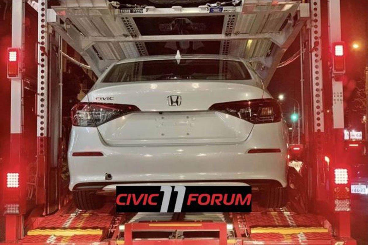 Ảnh thực tế đuôi xe Honda Civic 2022 1