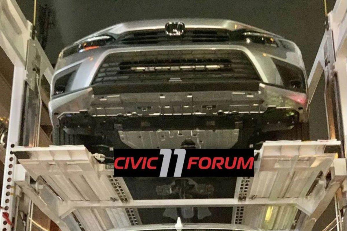 Ảnh thực tế đầu xe Honda Civic 2022 1