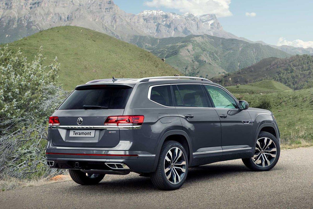 Volkswagen Teramont 2021 ngoại hình khá tương đồng với Touareg 2021 1