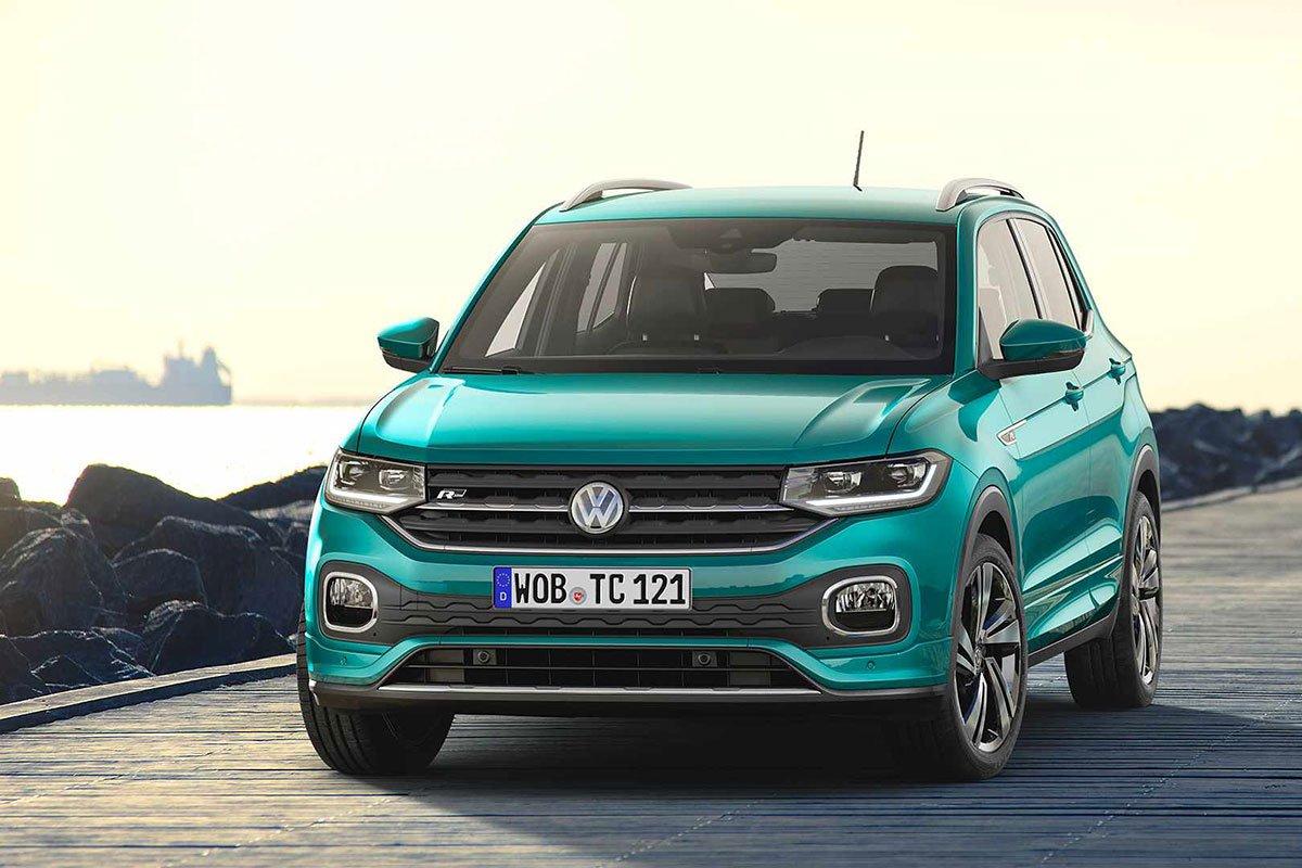 Ảnh Đầu xe Volkswagen T-Cross 2021