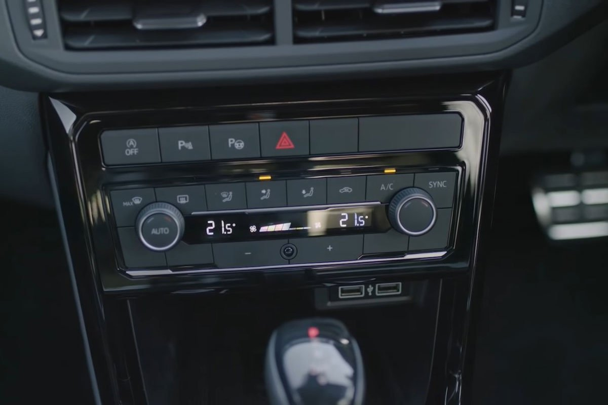Ảnh Điều hòa xe Volkswagen T-Cross 2021