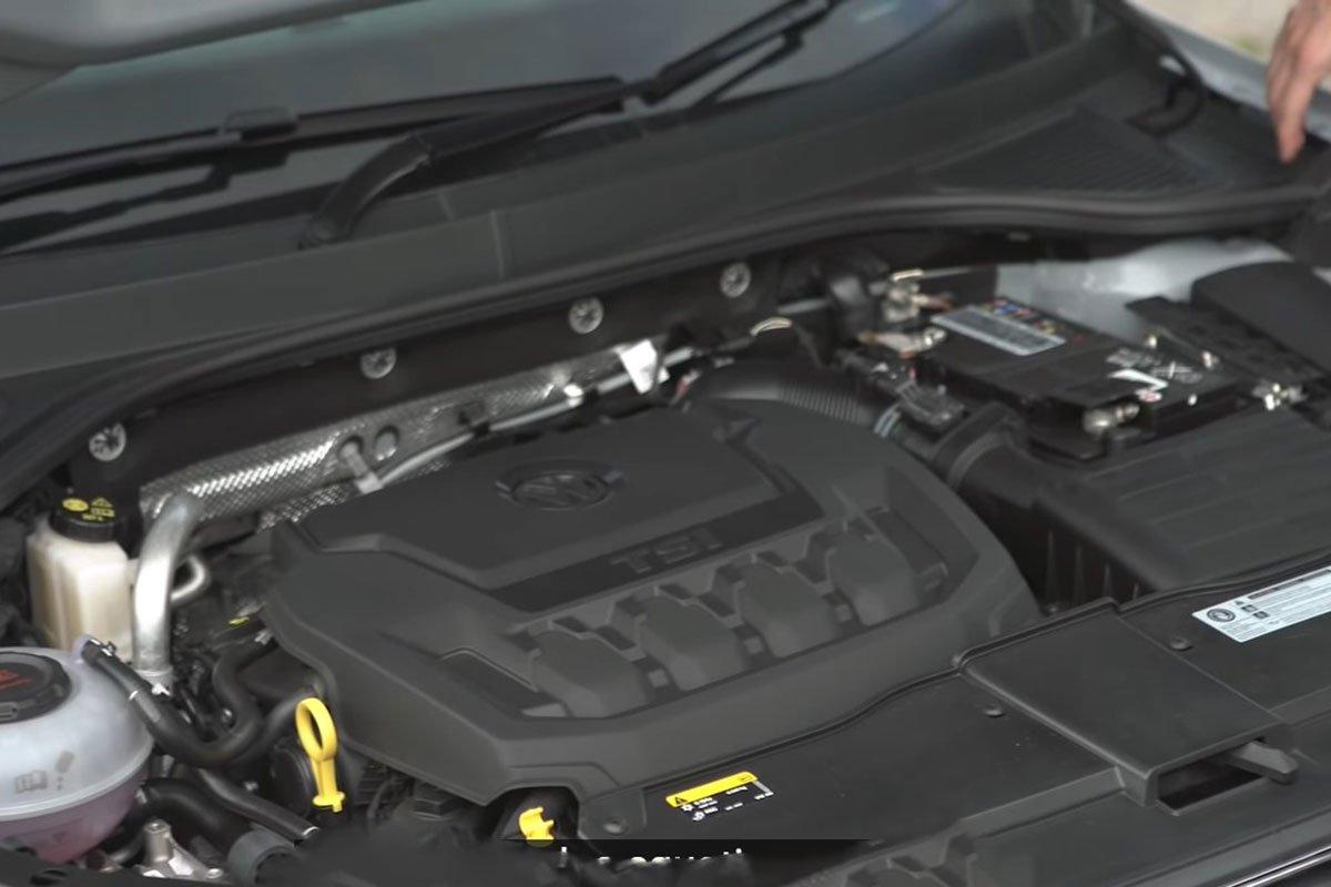 Ảnh Động cơ xe Volkswagen T-Cross 2021