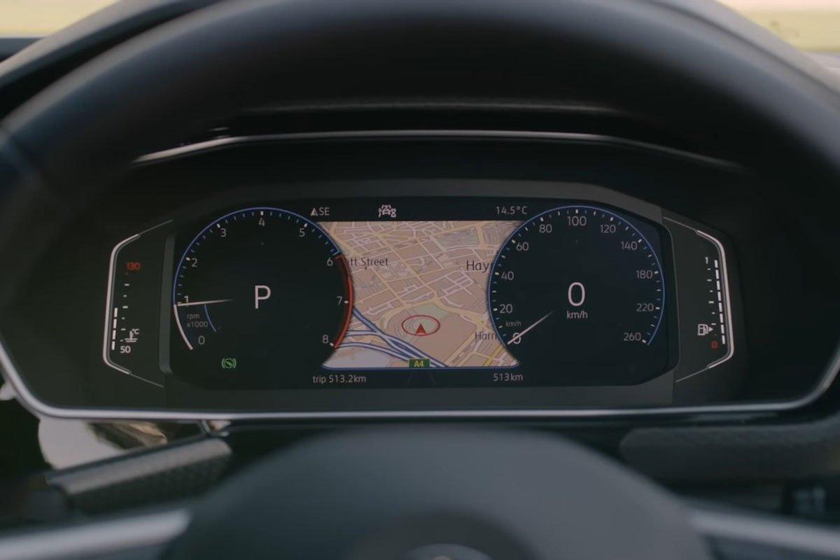 Ảnh Đồng hồ xe Volkswagen T-Cross 2021