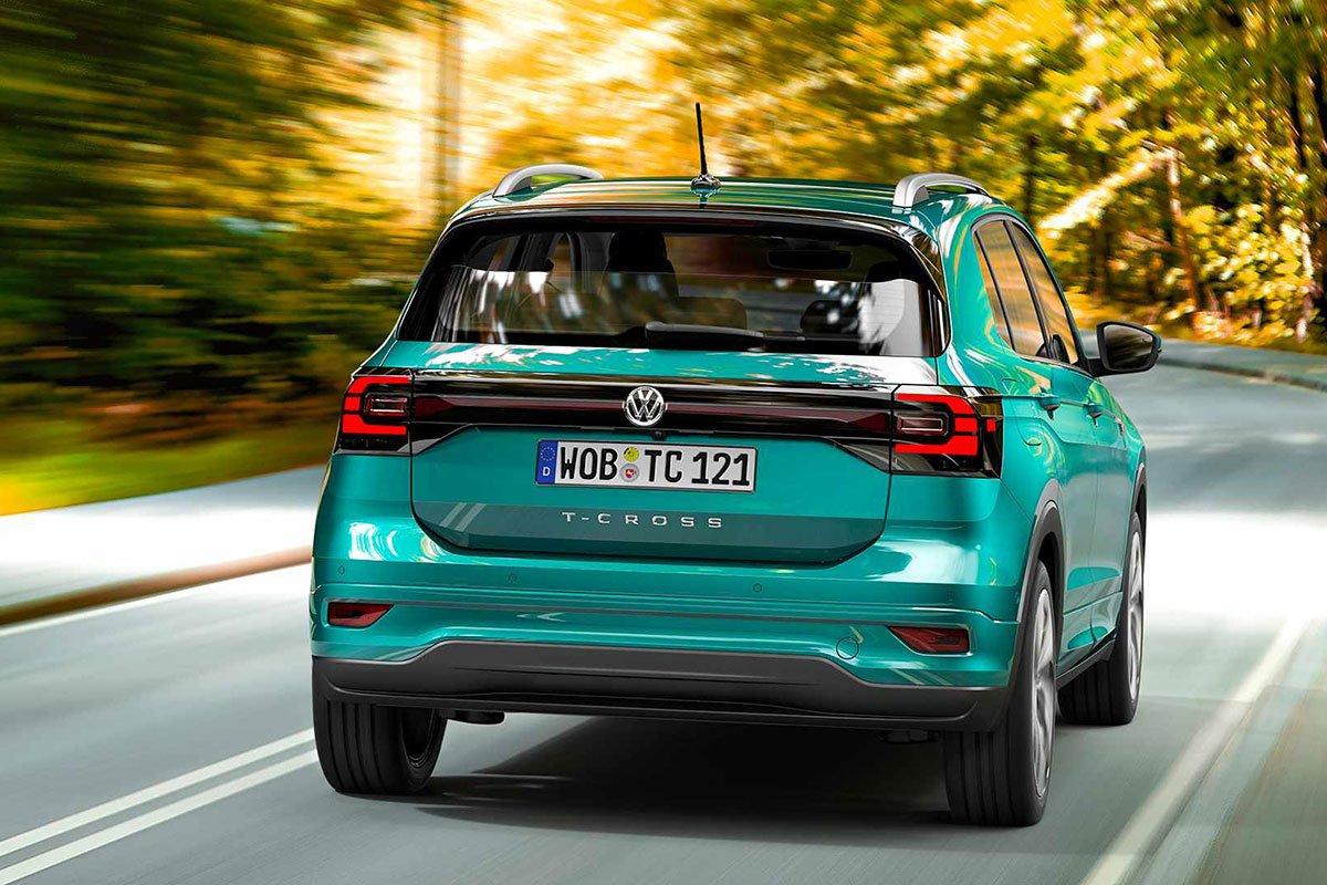 Ảnh Đuôi xe Volkswagen T-Cross 2021