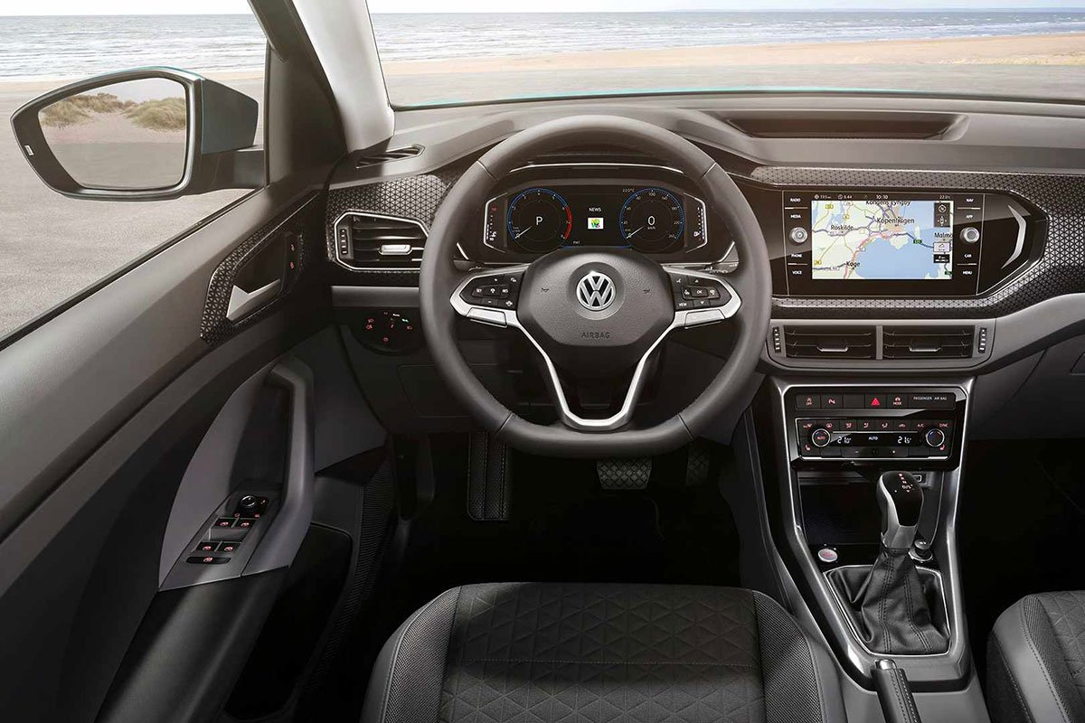 Ảnh Vô-lăng xe Volkswagen T-Cross 2021