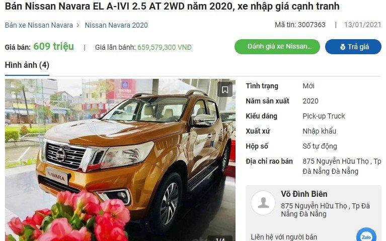 Nissan Navara giảm giá 50 triệu đồng đẩy hàng tồn kho, chờ bản mới? 1
