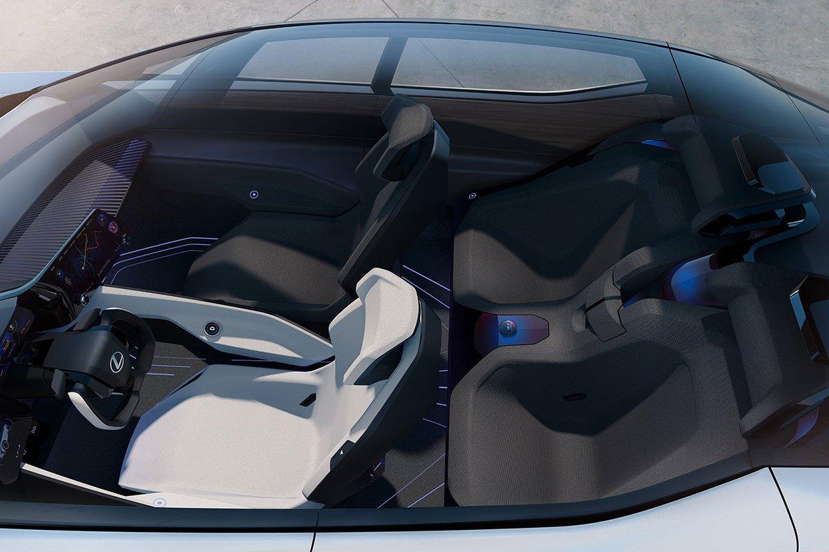 Lexus LF-Z Electrified Concept có cấu hình 4 chỗ 1