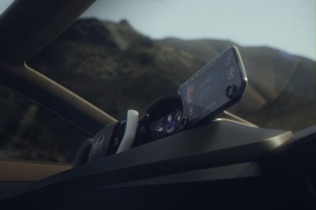 Màn hình trung tâm xe Lexus LF-Z Electrified Concept 1
