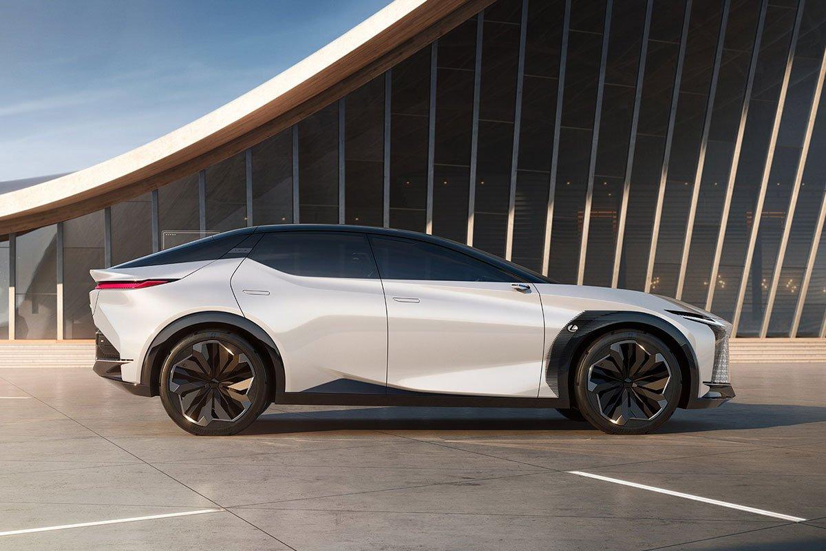 Thiết kế thân xe Lexus LF-Z Electrified Concept 1