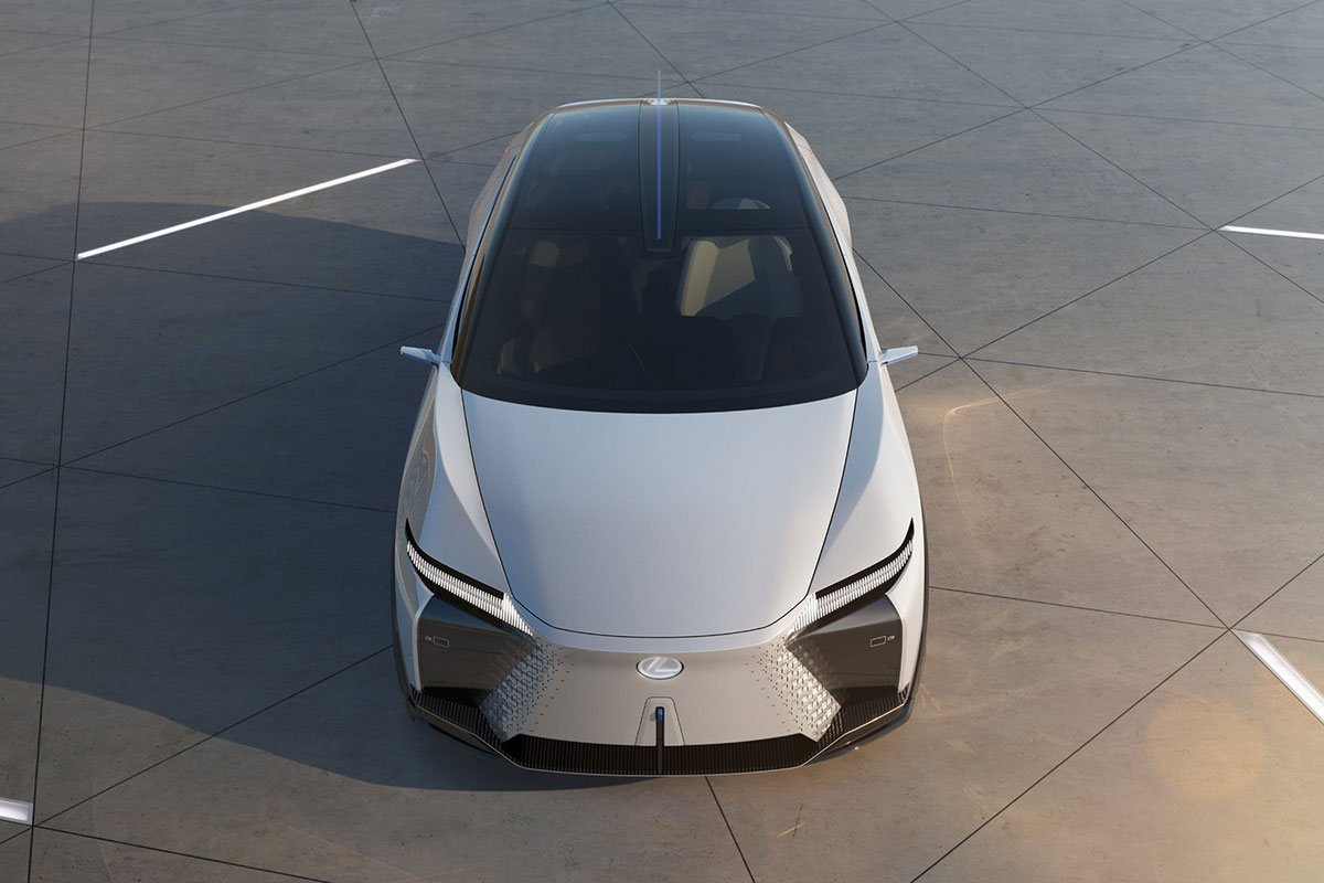 Thiết kế đầu xe Lexus LF-Z Electrified Concept 1