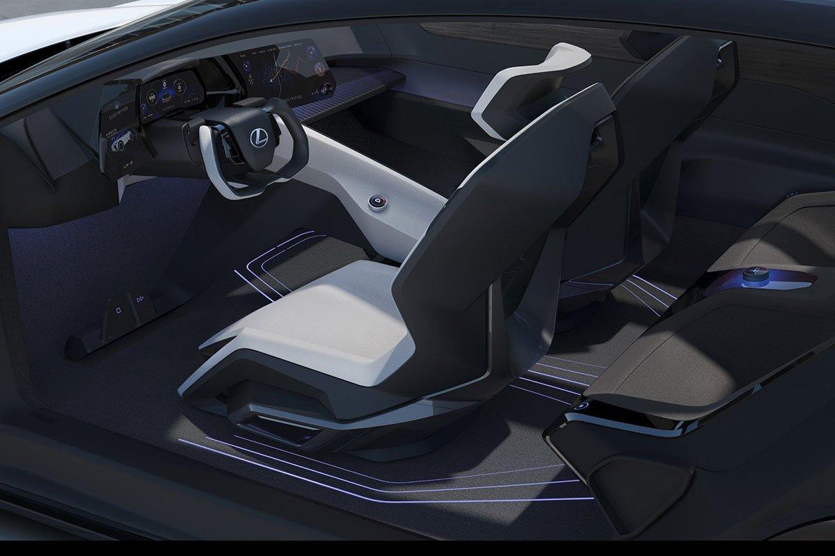 Thiết kế khoang cabin xe Lexus LF-Z Electrified Concept 1