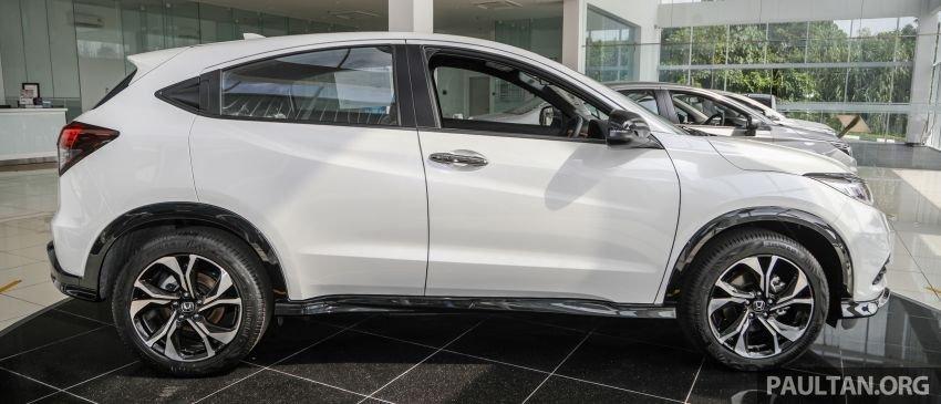 Honda HR-V 2021 RS đẹp mắt, hấp dẫn khó cưỡng.