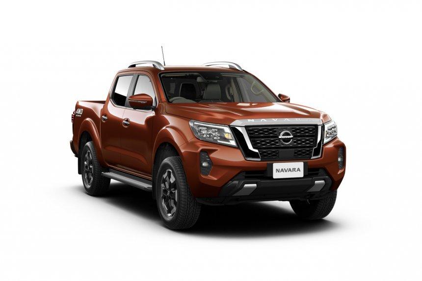 Nissan Navara 2021 được thiết kế toát lên sự mạnh mẽ, cứng rắn.