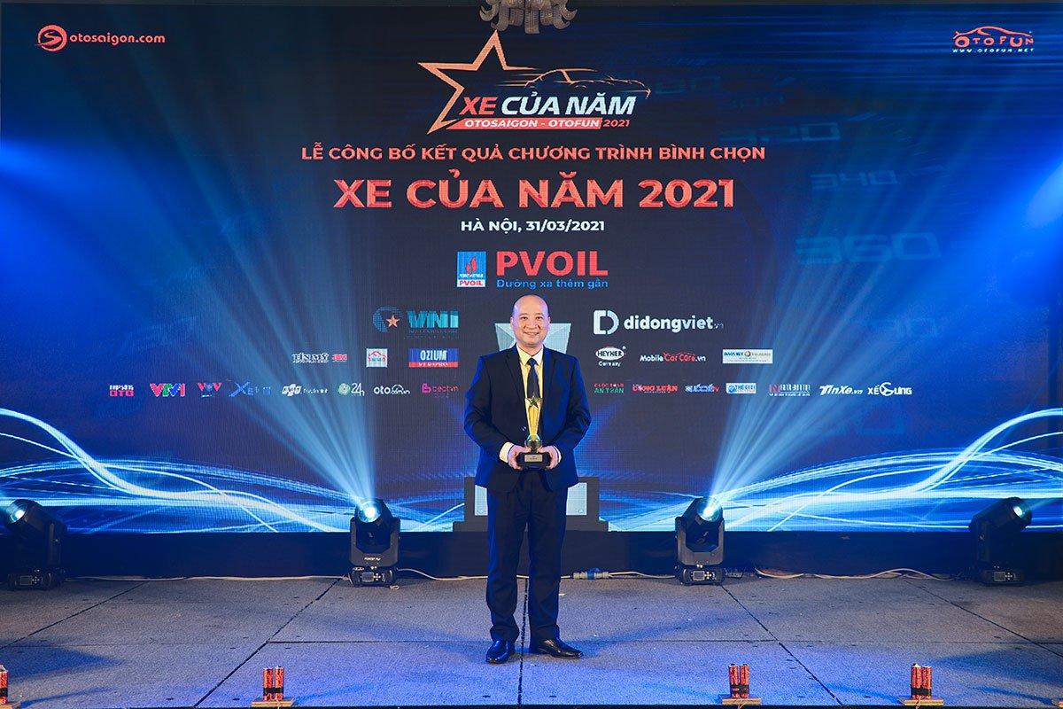 Ông NGÔ MINH HIẾU - Giám đốc Kinh doanh xe Du lịch Hà Nội tập đoàn Thaco.